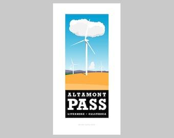 Altamont Pass print
