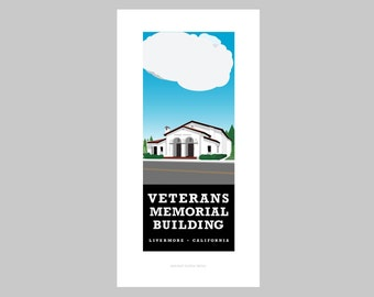 Veterans Memorial Building print