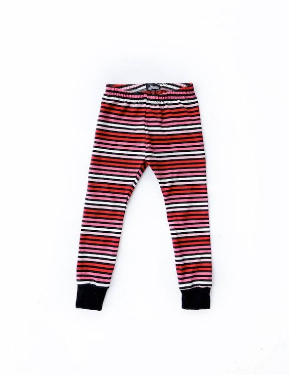 Valentine Dress Rainbow Hearts Cotton Pants Trousers Unisex Baby Clothing Nb-18m
