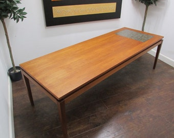 Danish Coffee Table By H W Klein