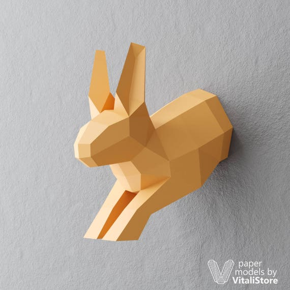 Origami Challenge: Paper Rabbit (inspired by To the Moon) | 570x570