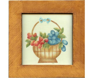 Small Fruit Basket Theorem Painting