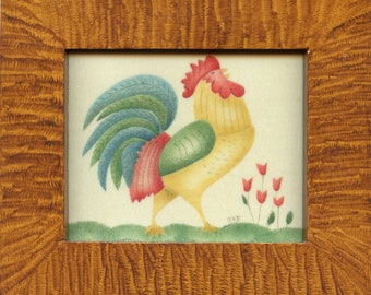 Rooster Theorem Painting
