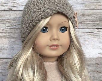 DIY Crochet Pattern - 18 inch Doll Amelie Cloche Hat PDF 03 (Fits American Girl Dolls) – Digital Download
