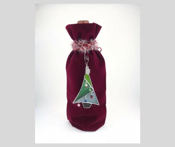 Sac bouteille de vin Champagne spiritueux cadeau Kits - rouge Bordeaux avec choix de col - livraison gratuite