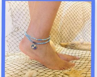 Under the Sea ankle bracelet
