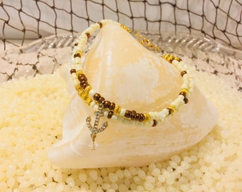 Beach Anchor with diamonds