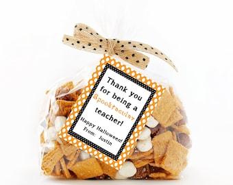 Halloween Tags,  Printable Halloween Tags,  Halloween Gift Tags,  Treat Tag,  Teacher Tags,  Happy Halloween Labels,  Halloween printable