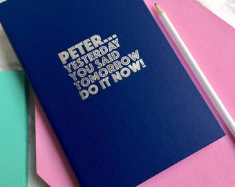 Do It Now Notebook