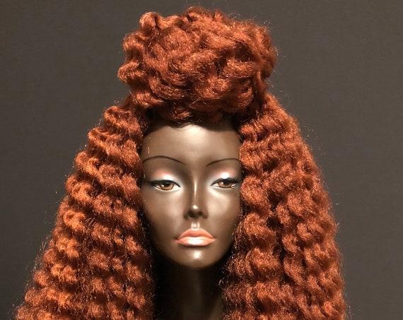 Copper Kinky Tendrils Wig By Essence Wigs