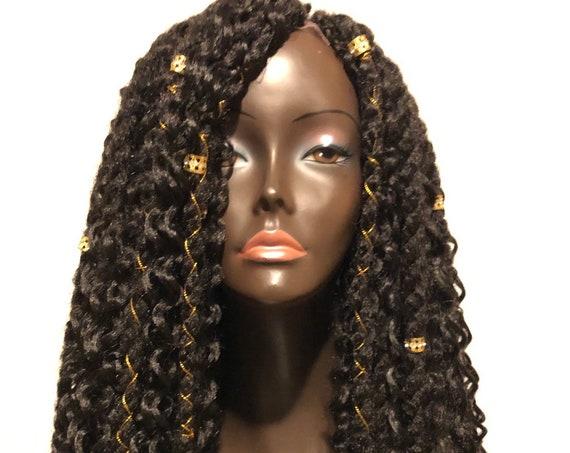 Bohemian Gypsy Boho Twist Wig by Essence Wigs