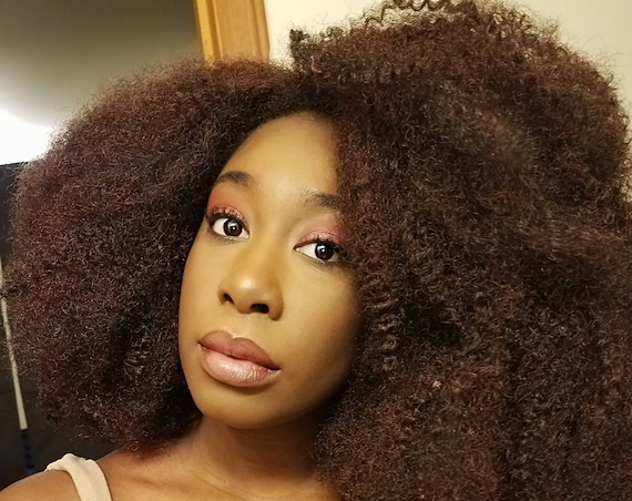 Essence Wigs Gorgeous 4C Bangs Afro Kink Bohemian Vibe 4a Fro Afro Lacefront Wig Natural Hair Lace Wig Unit Full Cap