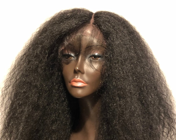 Gorgeous 'LIONESS II' Wig Lace Front Wig Baby Hair Textured Kinky Straight