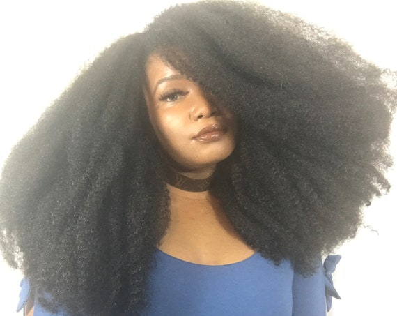 Essence Wigs 'Voluptuous Kinks' Sheba Wig Unit Super Big Natural Hair Kinky Tight Kinks