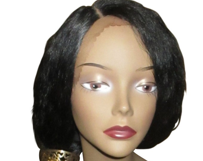 Essence Wigs SuperStar Dark Brown Dirty blonde highlights Blowout Lacefront Long Wig Wavy Natural Hair Lace Wig Unit 4b 4c 4a 24inch