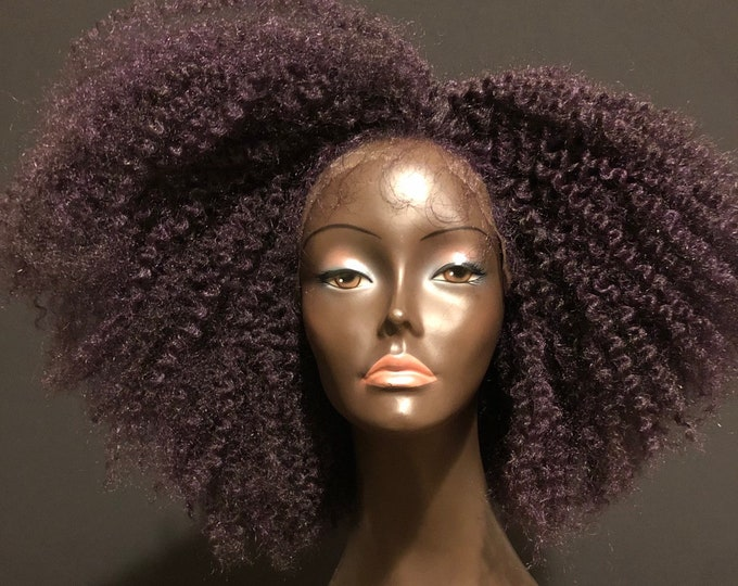 Braid Out Afro 'Asantewaa' Unit Lace Wig By Essence Wigs