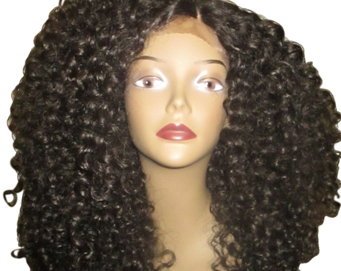 Essence Wigs The 'DIANA ROSS' Lace Wig Full Cap Unit Sustainable Lacefront Wig Curly Special parting 3b 3c