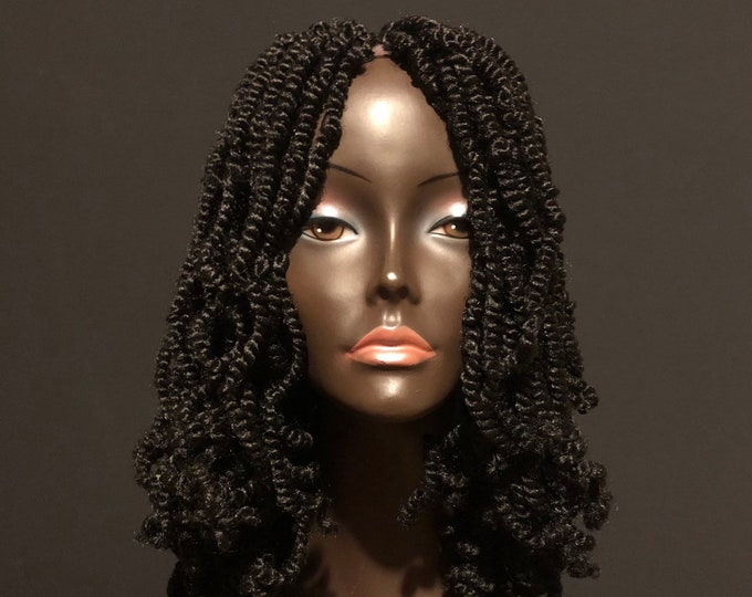 NEW Curly Jamaican Spring Twist Wig by Essence Wigs