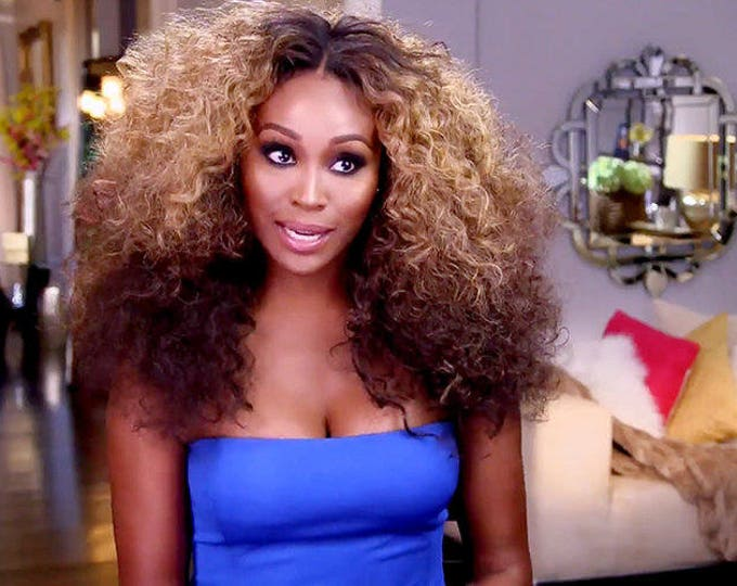 "Essence Wigs ""The Cynthia"" Three Tone Ombre Blonde Kinky Curly Lacefront Wig Natural Hair Lace Wig Premium Sustainable Fibers"
