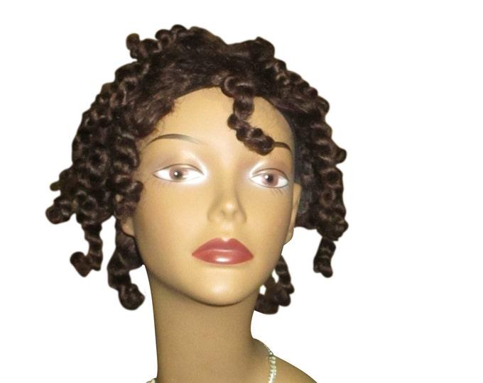"Essence Wigs ""Baby Bee Fro"" Wig w/ Chunky Twists 100% Remy Human Hair Black Wig Afro Kinky Wig Unit 4b 4a TWA Wig"