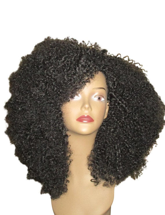 Essence Wigs Amazing Black Natural Hair VA VA Voom Afro kinky Curly Wig Unit 4b 4c