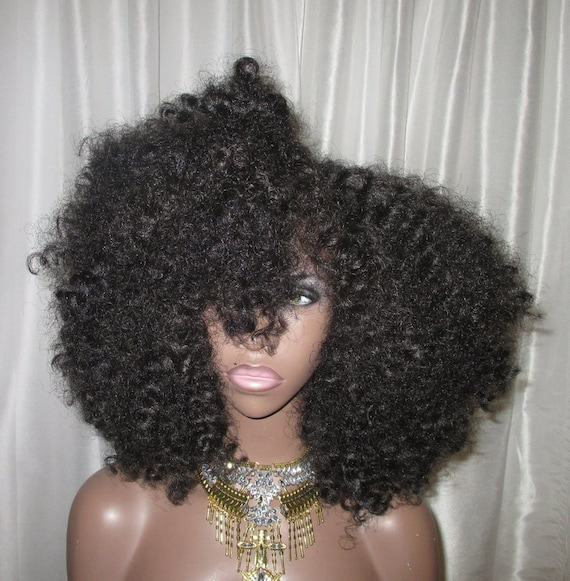 Essence Wigs Amina Bantu Knot Out Unit Lace Front Wig African Queens Collection