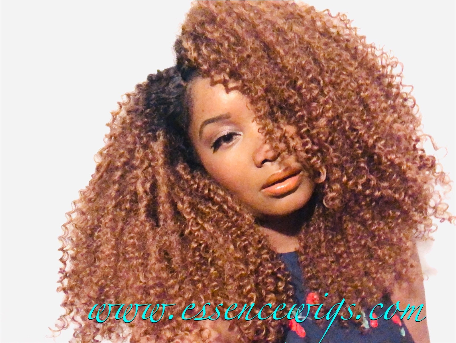 Essence Wigs Honey Blonde Super Volume Natural Hair