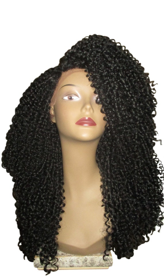 Essence Wigs The 'JANET JACKSON' BLACK Lacefront wig Natural Hair Lace Wig