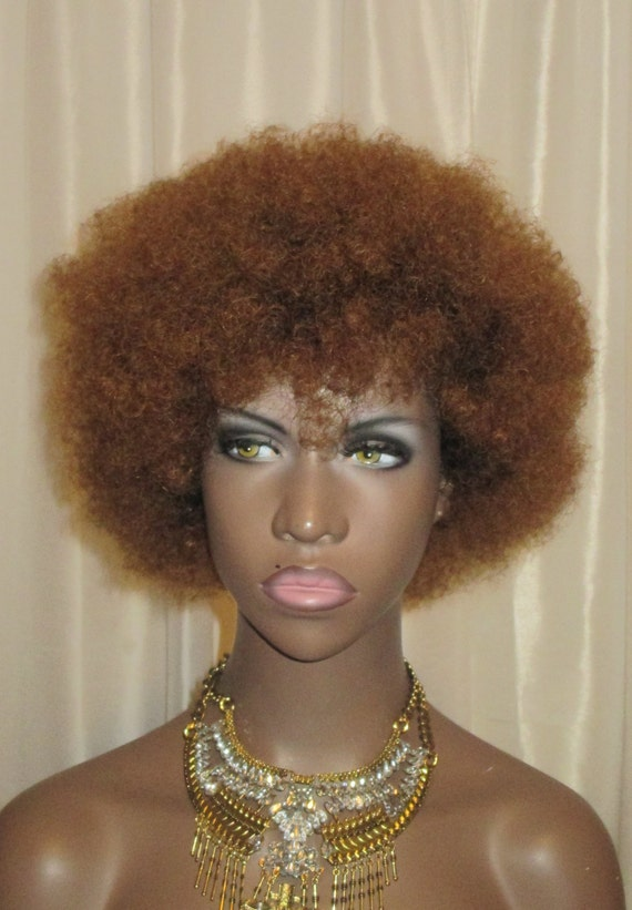 """Essence Wigs """"Baby Bee Fro"""" 100% Remy Human Hair Black Wig Kinky Afro Wig Unit 4b 4a TWA"""