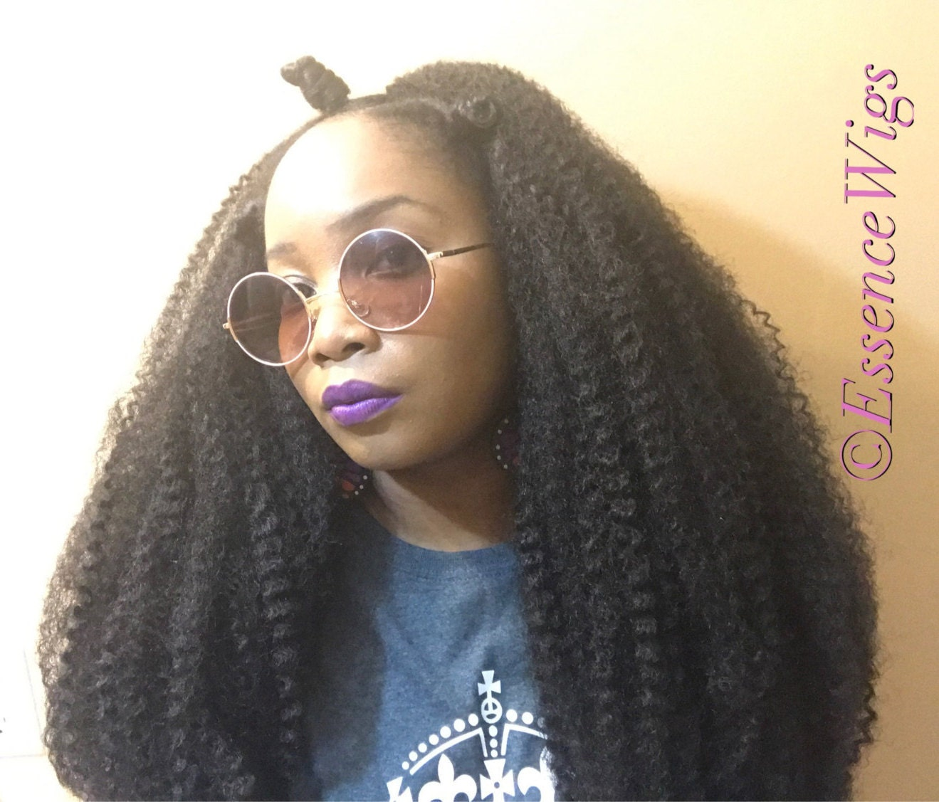 Essence Wigs New The Majestic Bohemian Crochet Wig Unit