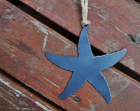 Starfish Ornament | Fish Ornament | Coast Ornament | Christmas Ornament | Nautical Decor | Beach Decor | Coastal Ornament