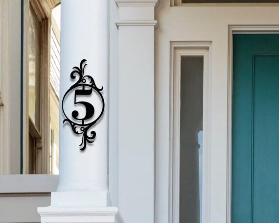 Address Numbers | Monogram Address Sign | Metal address sign | Home Address sign | house number plaque | House Numbers | House Number Sign