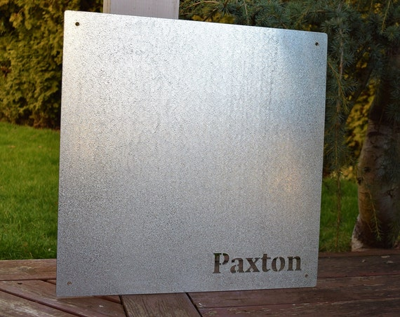 10 x 10 inch Square Galvanized Steel Custom Magnetic Board | Custom Magnet Board | Custom Magnetic Sign| Organization Board | Bulletin Board