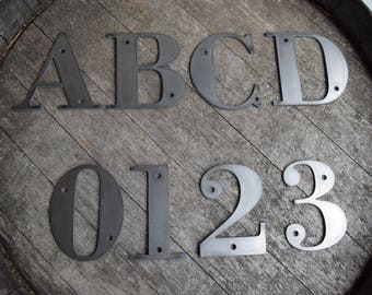 6 tall metal letters and numbers rustic letters metal letters metal numbers numbers small metal letters custom metal letters