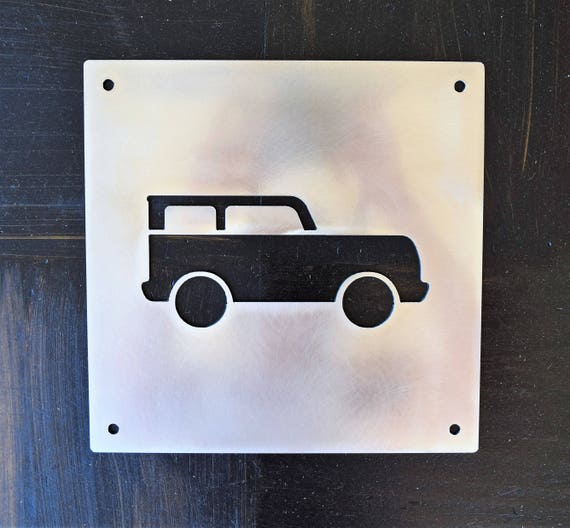 Metal Car Signs | Wall Art | Baby Boy Nursery Sign | Personalized Wall Art | Boys Room | Baby Shower Present | Kids Room | Custom Metal Sign