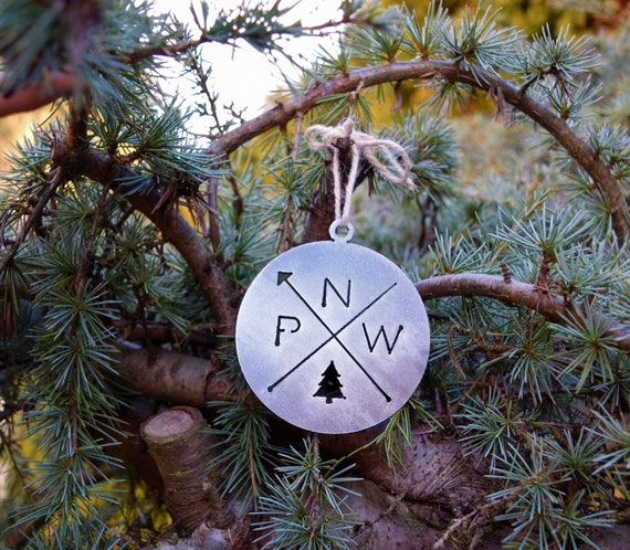 Pacific Northwest Ornament | PNW Ornament | Outdoors Ornament | Christmas Ornament | Hiking Decor | Woods Decor | Forest Ornament