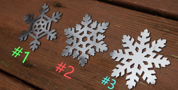 Snowflake Metal Ornaments | Christmas Ornament | Christmas sign | Holiday decor| Christmas Decor | Christmas Tree |Snowflake Art | Snowflake