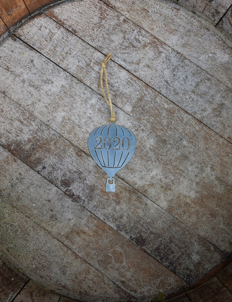 Rearview Mirror Balloon Festival Outdoors Raw Steel Balloon Hot Air Balloon Ornament Metal Balloon Ornament