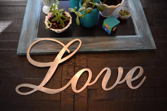 Custom Love Sign Order for Harmony