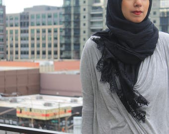 Lace Edged Scarves