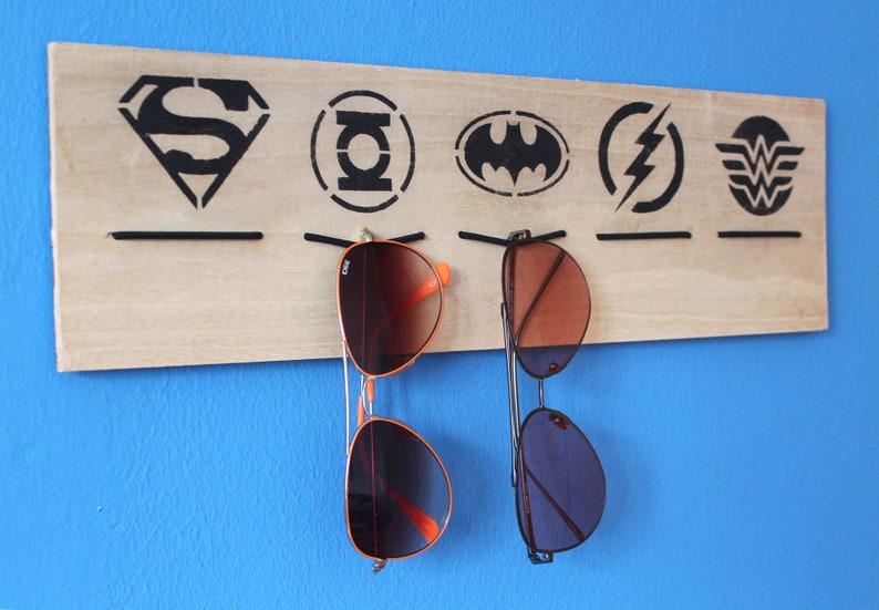 22356d8c1ea4 Eyewear Display: DC comics Batman Superman Green lantern | Etsy