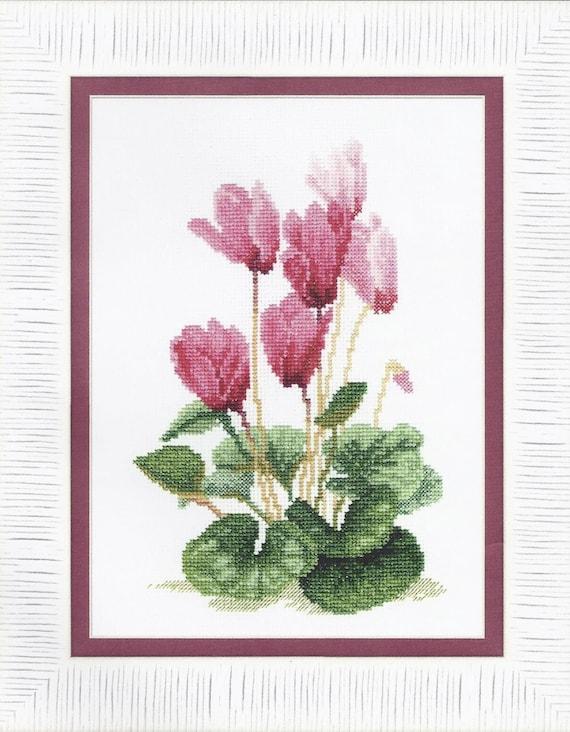 Cross Stitch Kit Vulnerary plants art BT-119