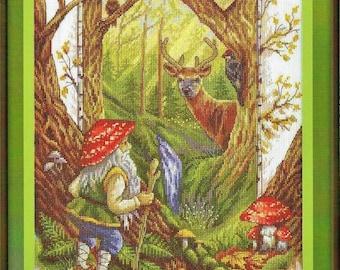 Cross Stitch Kit In the Fairy Tale