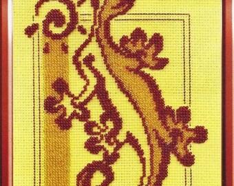 Bead embroidery kit Little Lizard J-0753