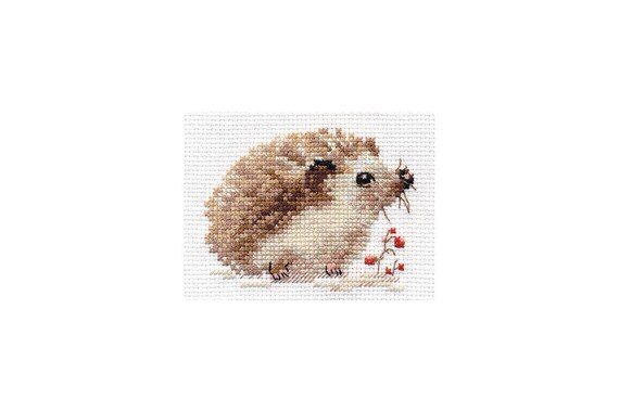 Alisa Cross Stitch Kit-conejos