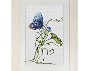 Cross Stitch Kit Emotion (butterfly)
