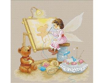 Cross Stitch Kit The Fairy B1130