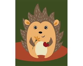 Paint by numbers kit HEDGEHOG