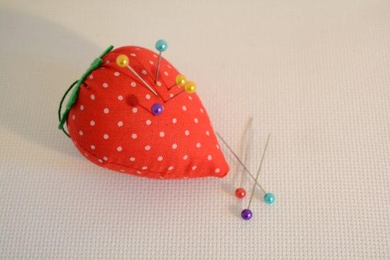 1 pc Erdbeere Pin Cushion Sticknadel eingefügt Nähen | Etsy