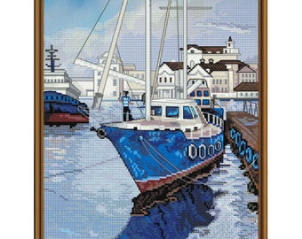 Cross Stitch Kit Saint Mary